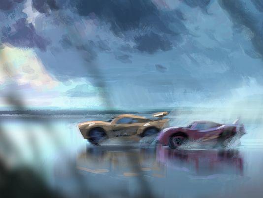 cars 3 arte conceptual