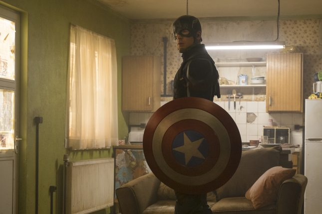 capitan america steve rogers civil war