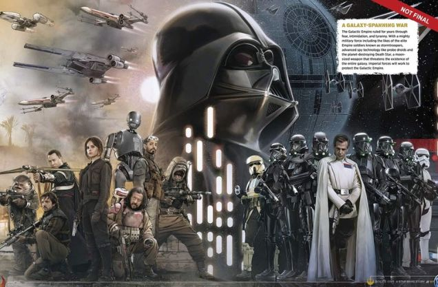 Star Wars: Rogue One - Book