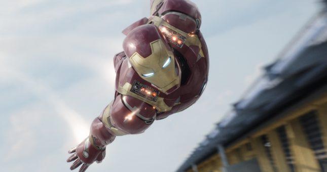 capitan america civil war iron man