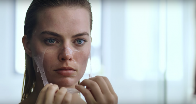 margot robbie vogue american psycho
