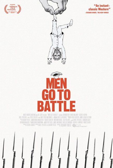 poster men go to battle