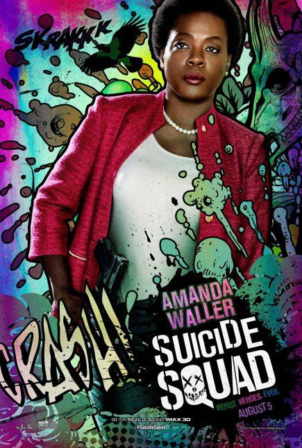 Escuadrón Suicida: El famoso póster de Amanda Waller