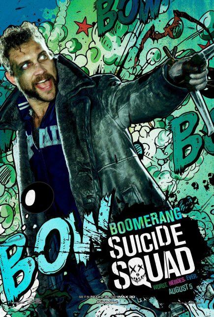 Escuadrón Suicida: El famoso póster de Boomerang