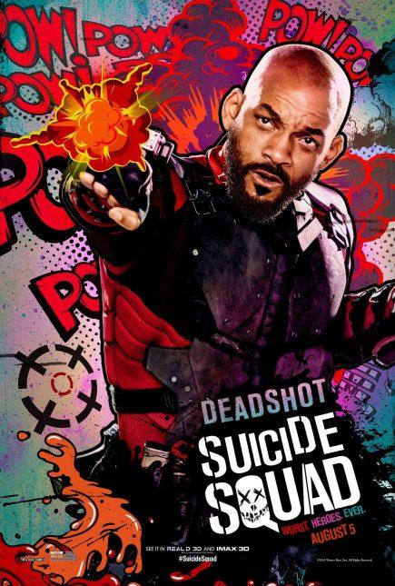 Escuadrón Suicida: El famoso póster de Deadshot