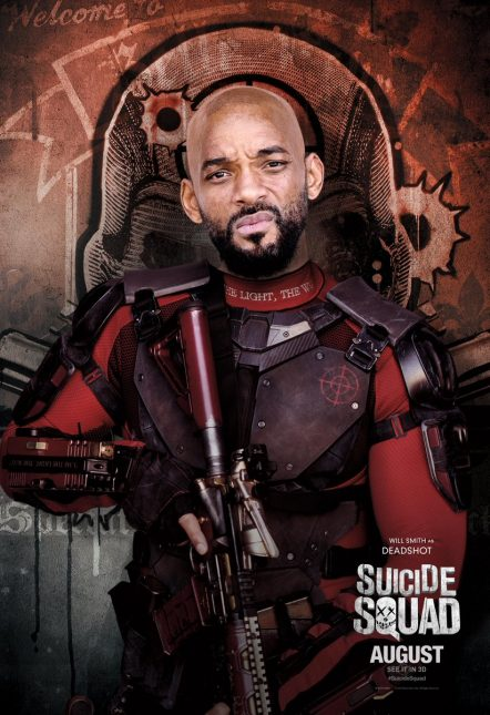 will smith deadshot poster escuadron suicida