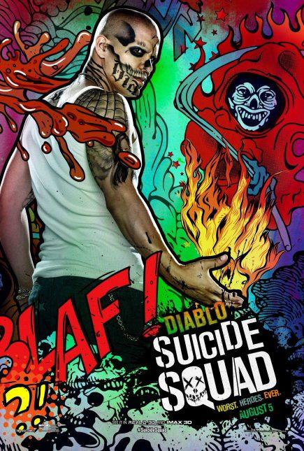 Escuadrón Suicida: El famoso póster de Diablo
