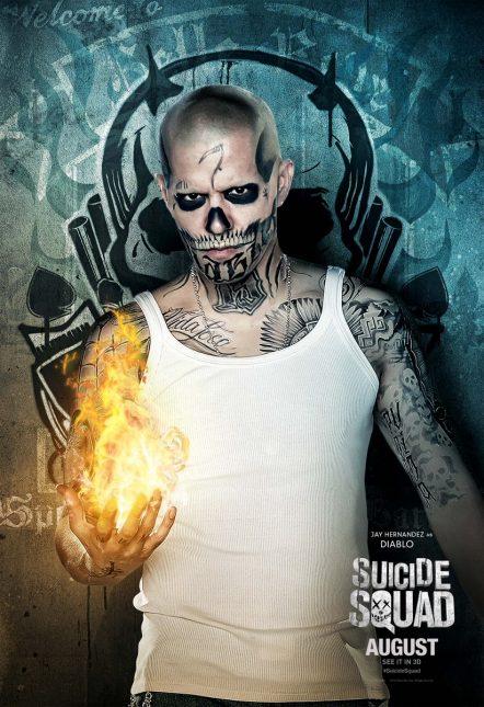 jay hernandez diablo poster escuadron suicida