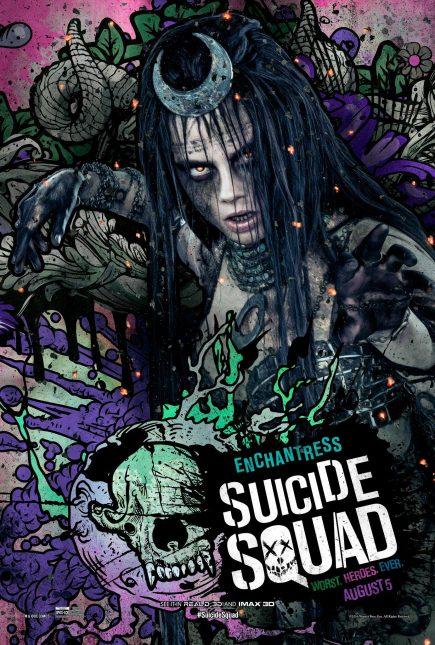 Escuadrón Suicida: El famoso póster de Enchantess
