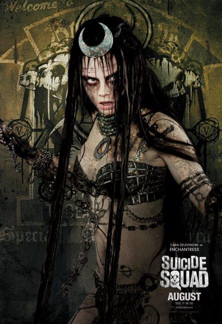 cara delevingne enchantress poster escuadron suicida