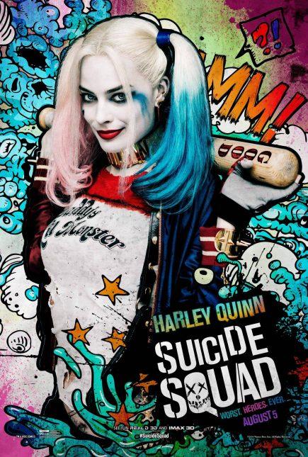 Escuadrón Suicida: El famoso póster de Harley Quinn