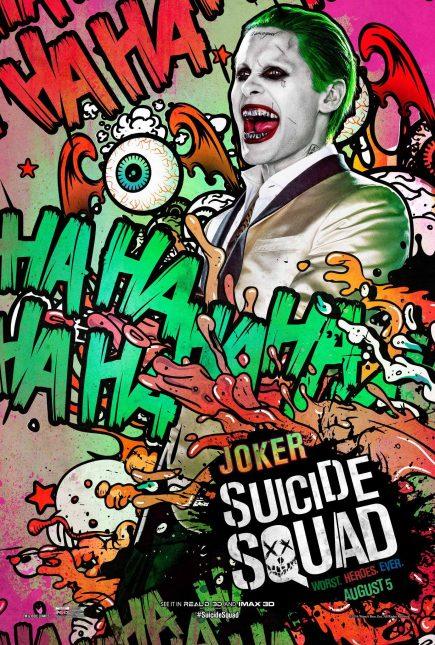 Escuadrón Suicida: El famoso póster de The Joker