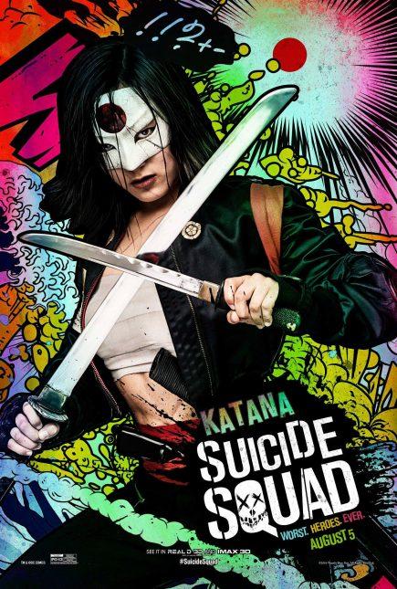 Escuadrón Suicida: El famoso póster de Katana