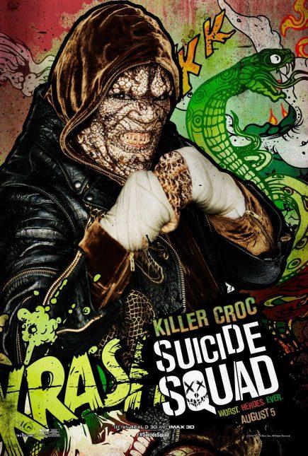 Escuadrón Suicida: El famoso póster de Killer Croc