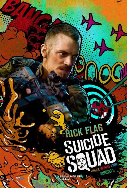 Escuadrón Suicida: El famoso póster de Rick Flag