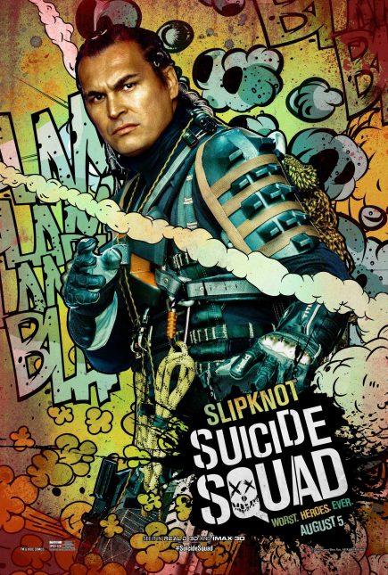 Escuadrón Suicida: El famoso póster de Slipknot