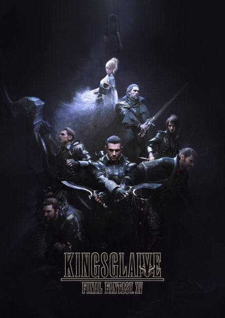 poster final fantasy xv kingsglaive