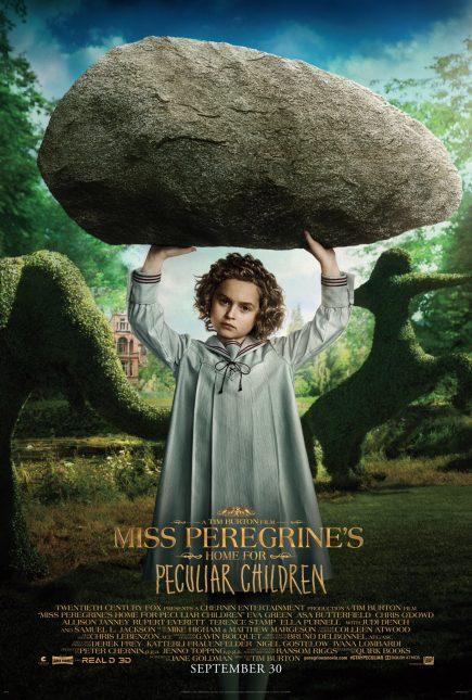 miss peregrine niños peculiares poster pixie davies bronwyn