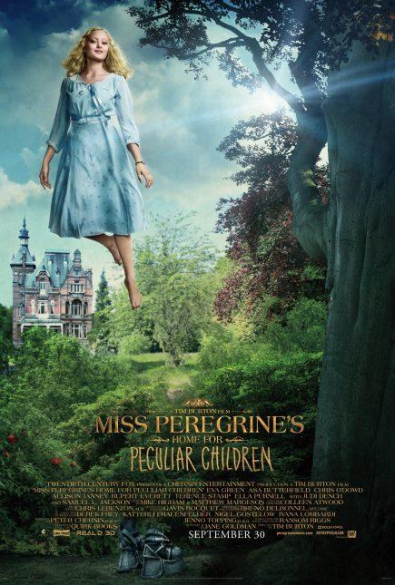 miss peregrine niños peculiares poster emma bloom ella purnell