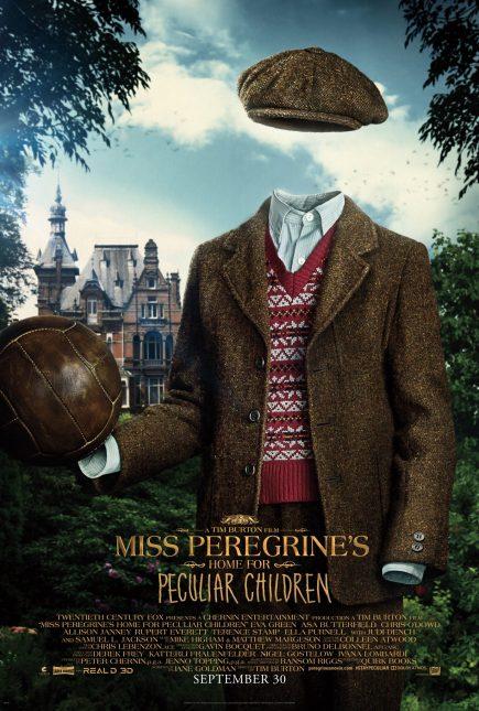 miss peregrine niños peculiares poster cameron king millard