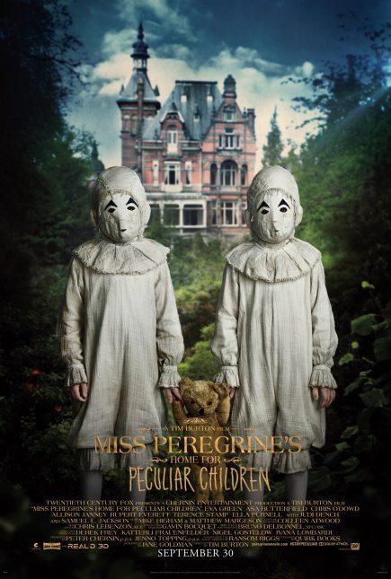 miss peregrine niños peculiares poster gemelos thomas odwell joseph