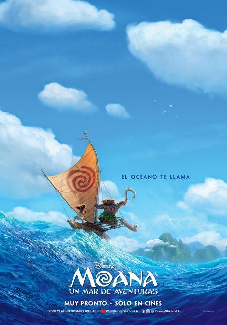 poster moana mar aventuras