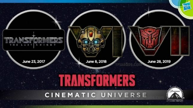 ... oficial de Transformers: The Last Knight es el 23 de enero del 2017