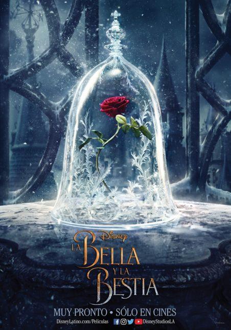 teaser poster bella y la bestia