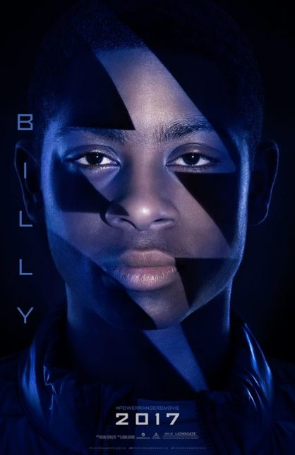 billy ranger azul poster power rangers