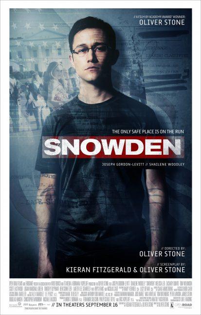 poster snowden olvier stone