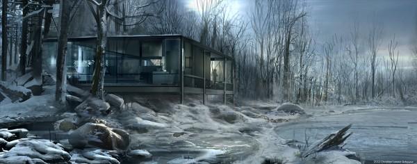 batman-v-superman-lake-house-concept-art-christian-lorenz-scheurer-600x236