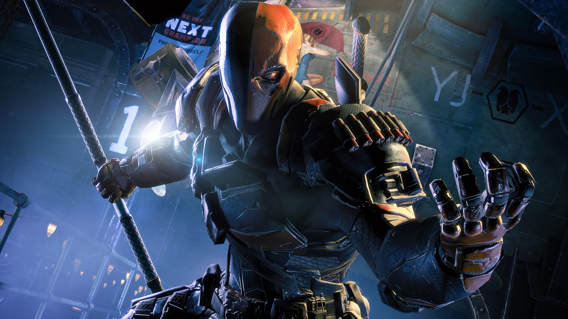 deathstroke batman