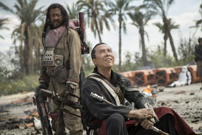 Rogue One: Una Historia de Star Wars - Baze Malbus y Chirrut Imwe