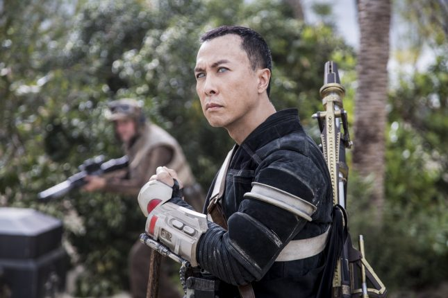 Rogue One: Una Historia de Star Wars - Donnie Yen es Chirrut Imwe