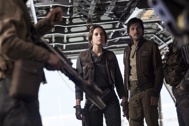 Rogue One: Una Historia de Star Wars - Jyn Erso y Cassian Andor