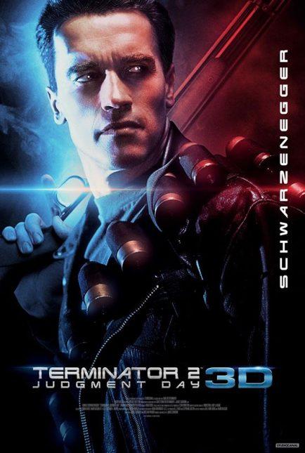 terminator 2 judgement day 3d poster