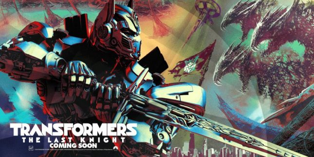 poster transformers the last knight