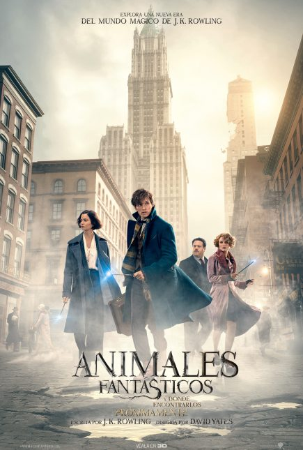 poster final animales fantasticos donde encontrarlos