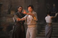 Doctor Strange: Benedict Cumberbatch y Chiwetel Ejiofor