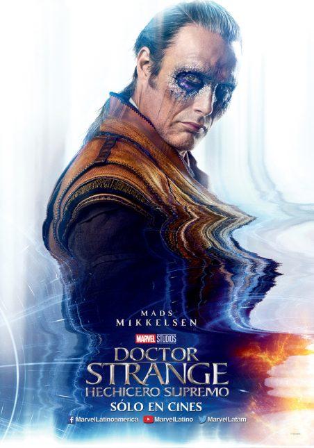 mads mikkelsen doctor strange poster