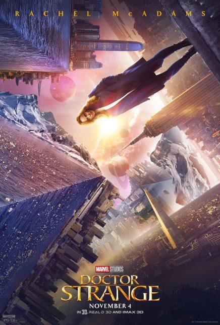 Doctor Strange: El famoso póster de rachel mcadams