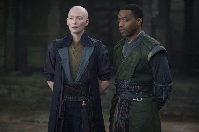 Doctor Strange: tilda swinton chiwetel ejiofor