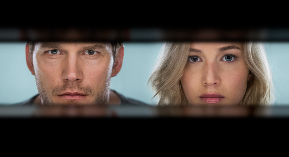 chris pratt jennifer lawrence passengers