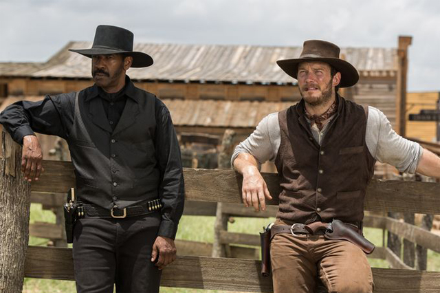 siete magnificos denzel washington chris pratt