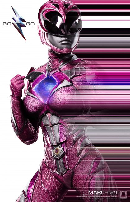 power rangers poster rosa