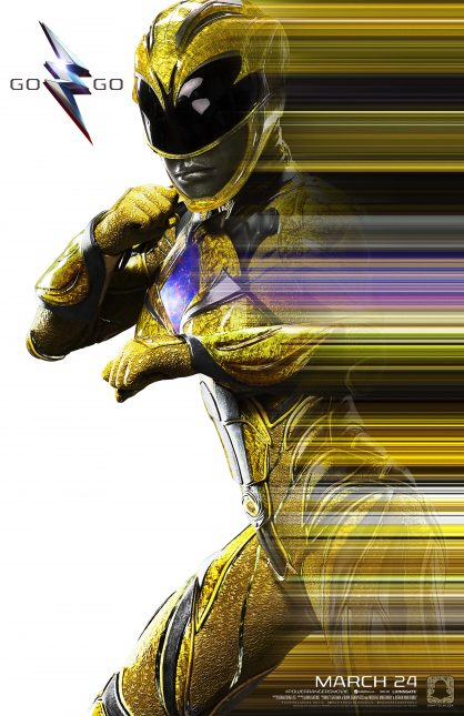 power rangers poster amarillo