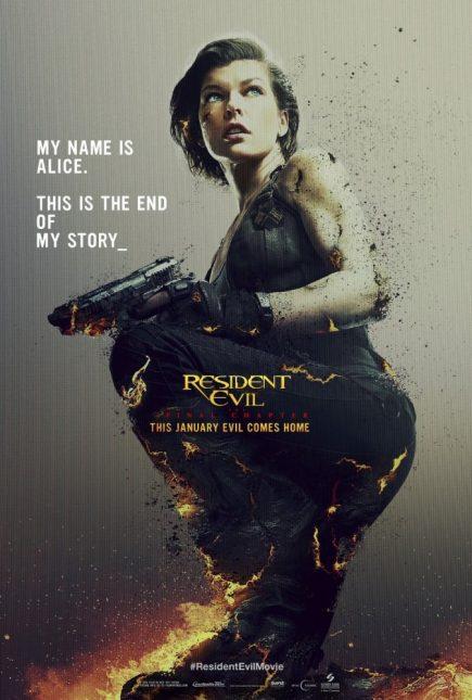 Resident Evil: El Capítulo Final poster