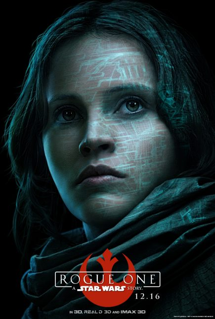felicity jones rogue one historia star wars