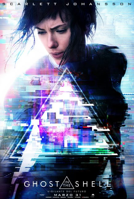 poster Ghost in the Shell Vigilanete del Futuro