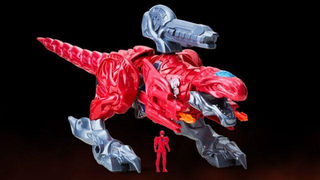 tiranosaurio zord juguete power rangers